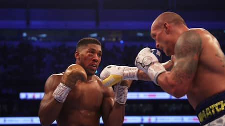 Anthony Joshua finally breaks silence after losing heavyweight titles to Oleksandr Usyk