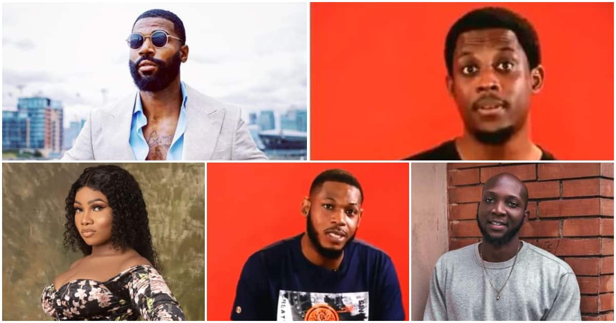 BBNaija 2019: Mike, Tacha, Frodd, Tuoyo, Seyi, up for possible