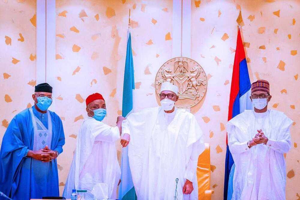 Breaking: PDP Senator Decamps to Ruling APC, Meets Buhari