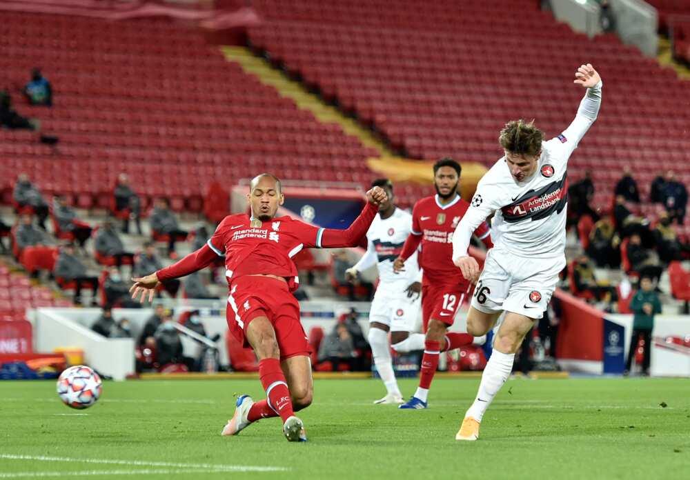 Fabinho, Brazilian star, suffers serious injury in Champions League tie against Midtjylland