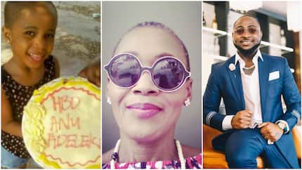Kemi Olunloyo accuses Davido of abandoning his alleged 1st daughter, Twitter users react (photos)