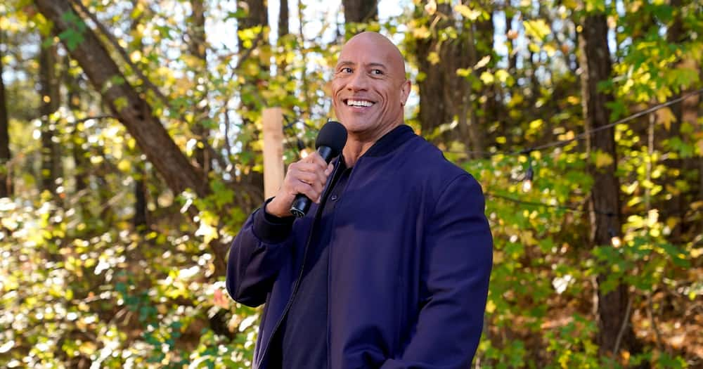 Dwayne Johnson's college football rookie card sells for over R600k