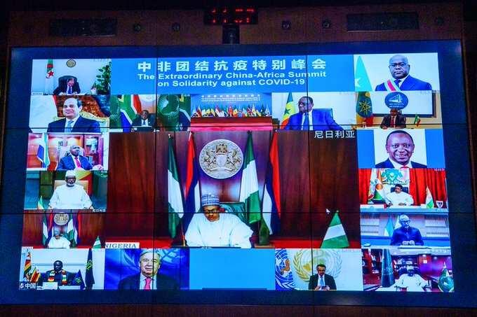 COVID-19: Buhari speaks at China-Africa summit, seeks collaboration among member-states