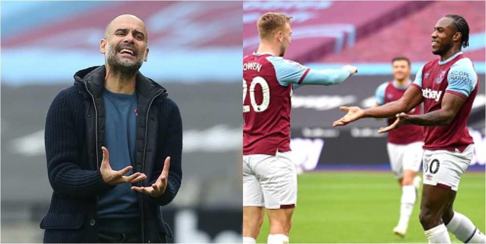 West Ham vs Man City: Antonio, Foden score in 1-1 draw