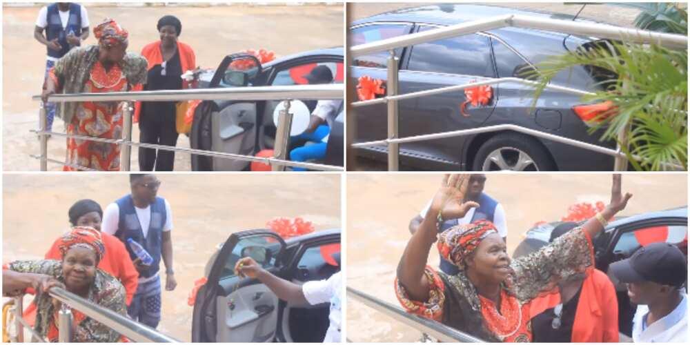 Actress Sonia Ogiri gifts mother new car.