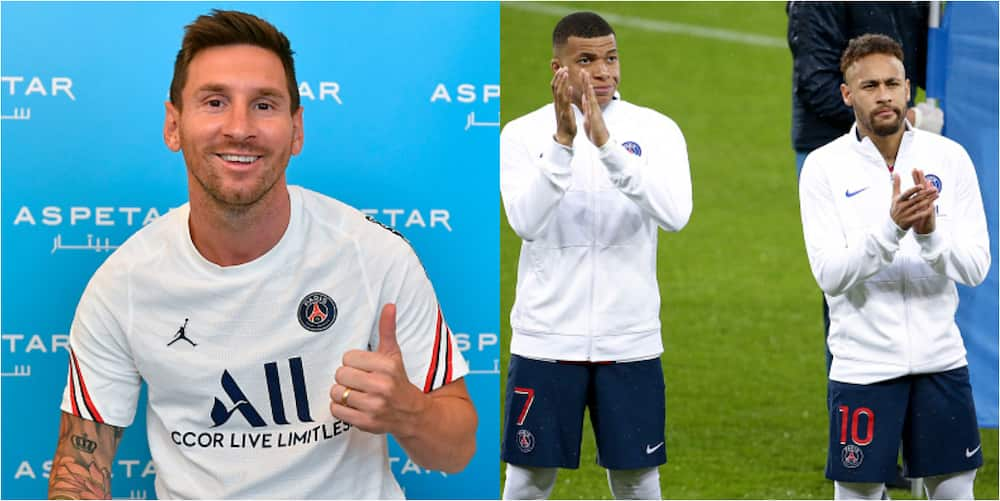 Messi Makes Big Statement About Playing Alongside Neymar And Mbappe After Signing For PSG