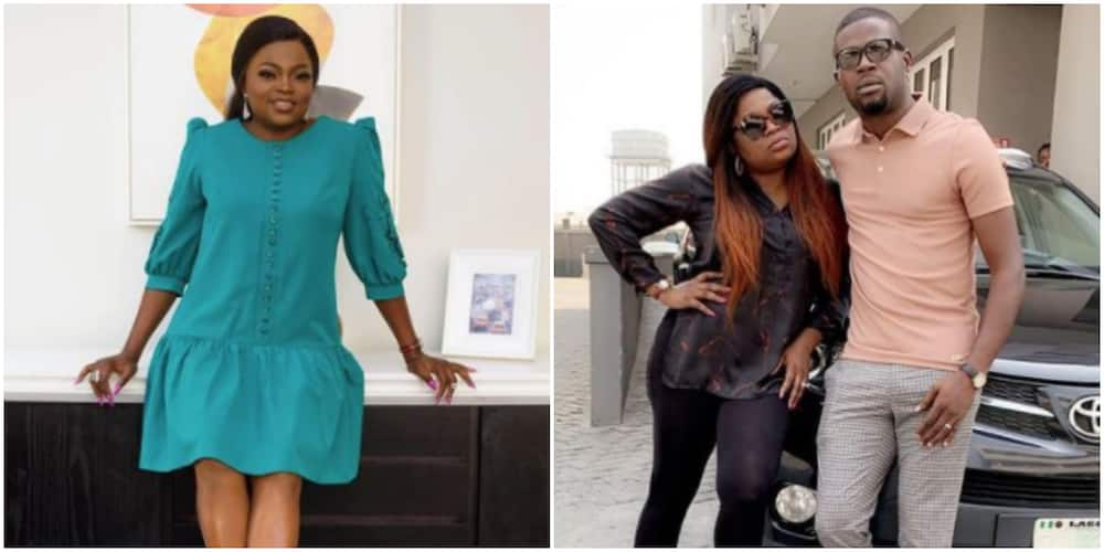 Actress Funke Akindele-Bello talks about working with her husband