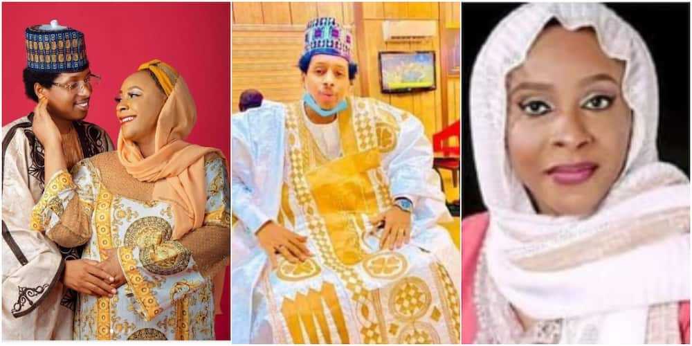 23-year-old man marries 45-year-old popular Nigerian politician, their cute photos light up the internet