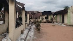 Breaking: Officers killed as hoodlums bomb NIS office, torch police station in Abia, release suspects
