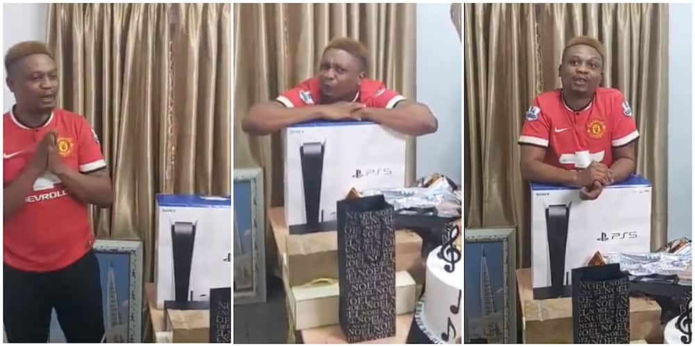 Rapper Reminisce clocks 40, friends surprise him with Ps5, other expensive gifts