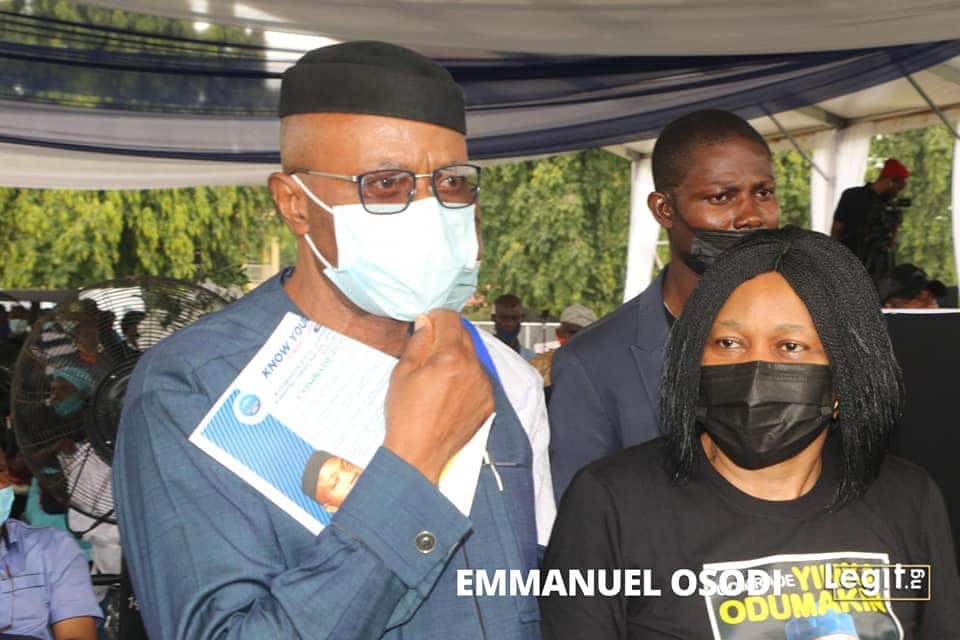 Prominent Nigerians attend Yinka Odumakin's lying-in-state ceremony