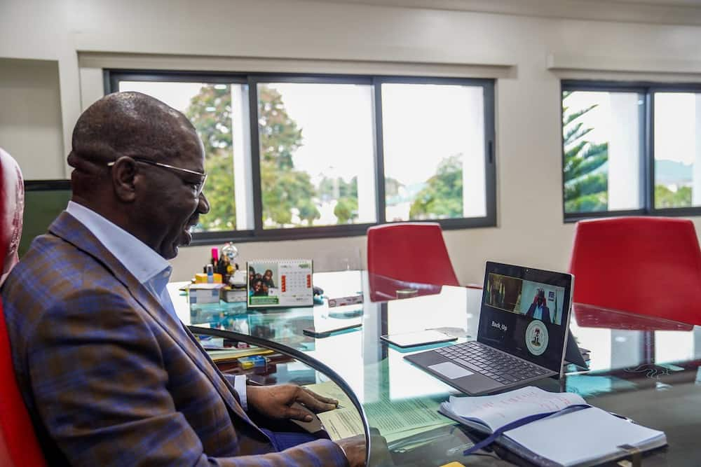 Edo election: Obaseki speaks about his relationship with Buhari ahead poll