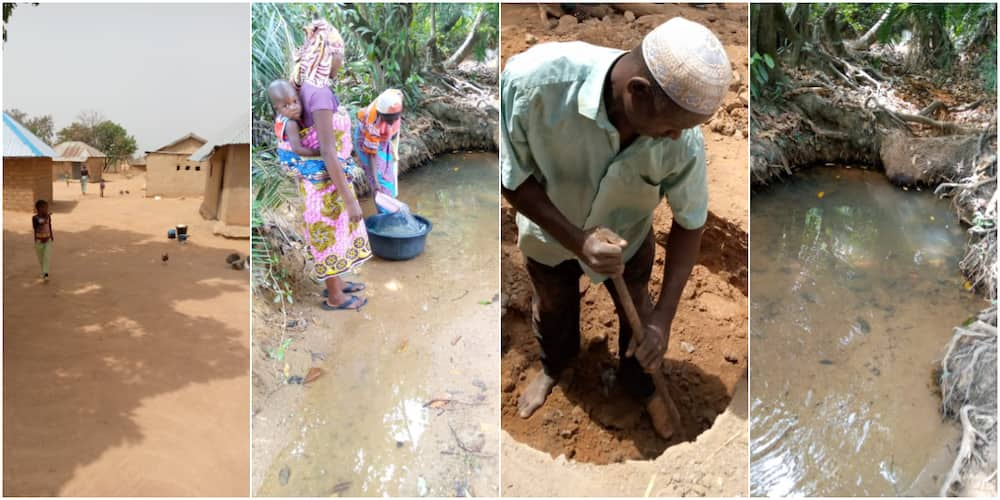 Kano villagers who drink from dirty river finally get well