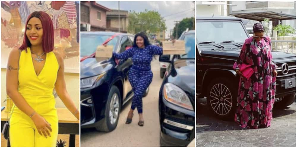 5 Nigerian celebrities who have bought cars this new year (photo)