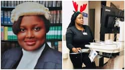 Meet beautiful Nigerian lawyer now training to be a medical doctor