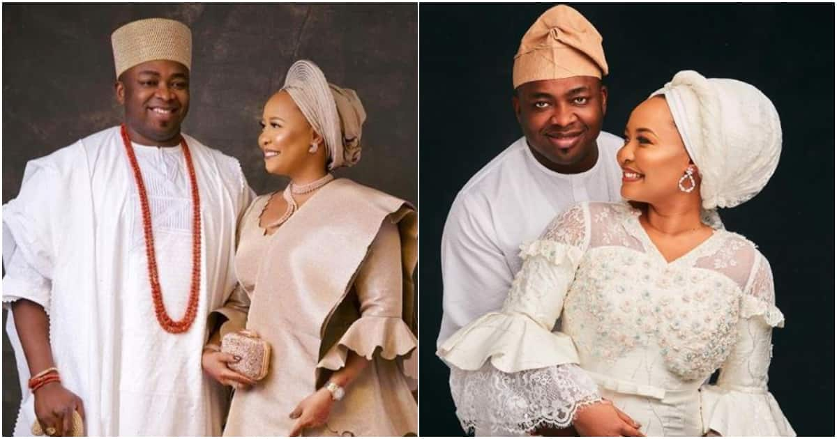 Oba Elegushi and Olori Hadiza mark 1st wedding anniversary (photos)