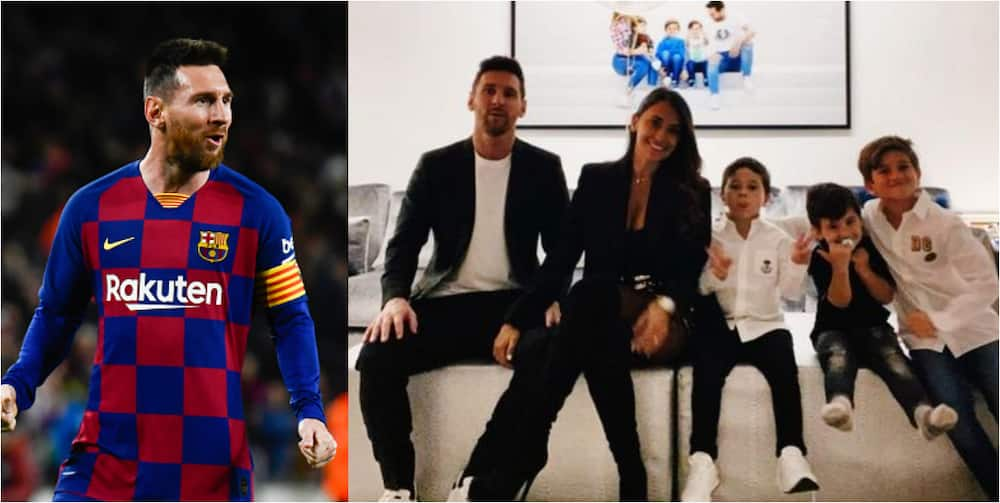 Lionel Messi wishes fans a happy New Year on Instagram