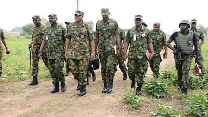 Kaduna crisis: Chief of Air Staff inspects new Nigerian Air Force Forward Operating Base