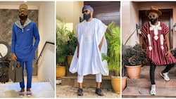Men's fashion: Top stylist Noble Igwe shows how to rock traditional looks in 10 styles