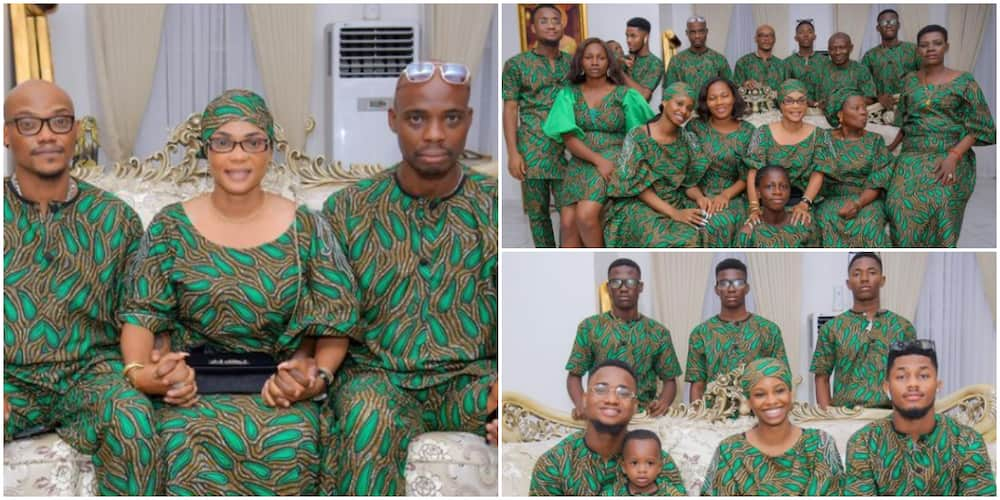 I am building a stronger and better generation: Actress Iyabo Ojo says as she flaunts extended family members