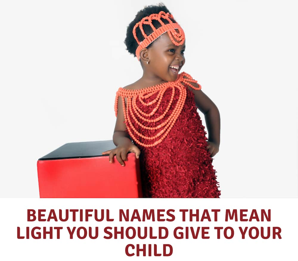 Names that mean light