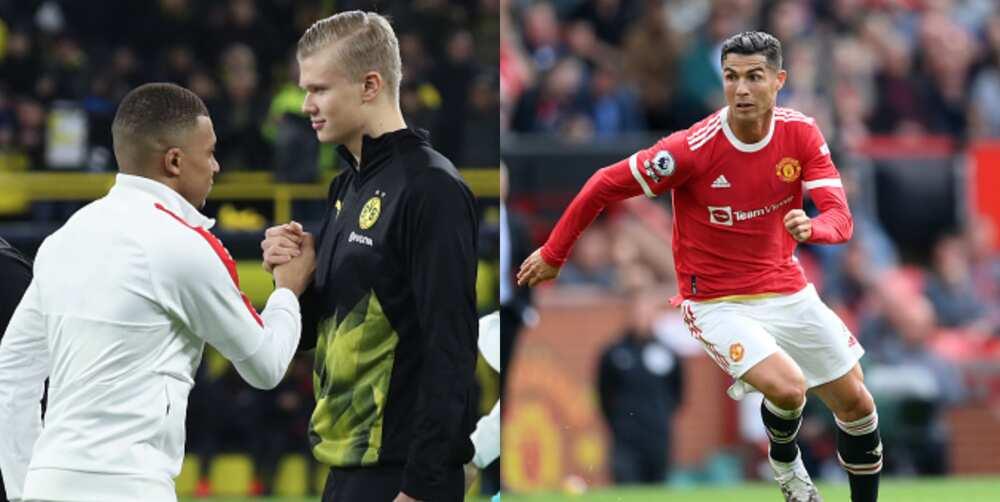 Ronaldo responds to Mbappe vs Haaland debate in classy fashion