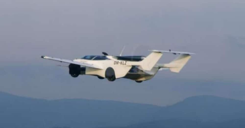 A flying car (pictured) equipped with a BMW engine has complete a 35-minute flight test between two airports. Photo: Dailyhunt.