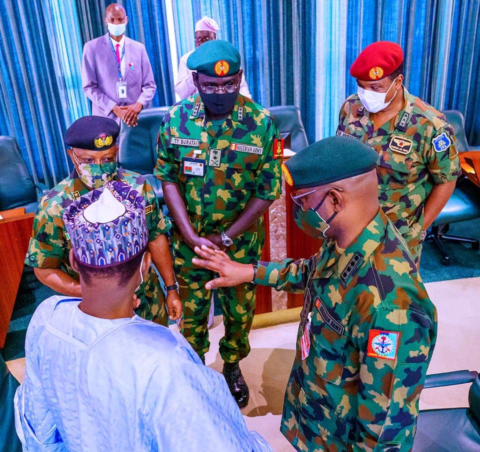 Anxiety as presidency told to probe Buratai, other ex-service chiefs