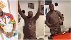 Isreal DMW screams out his lungs in Davido's presence as singer reportedly lifts his suspension