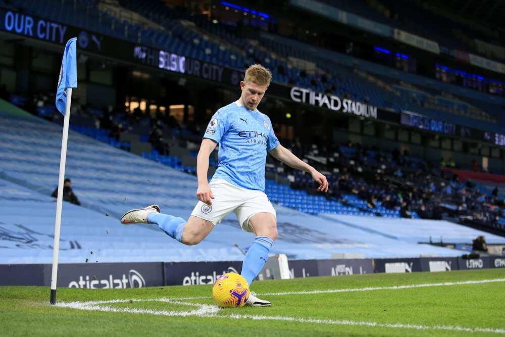 Kevin De Bruyne of Manchester City