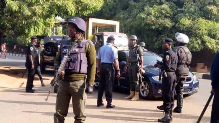 BREAKING: Detainees escape, patrol van torched as gunmen attack Ebonyi police station