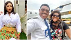 Nollywood actress Destiny Etiko shares lovely selfies with Omotola Jalade's pilot hubby