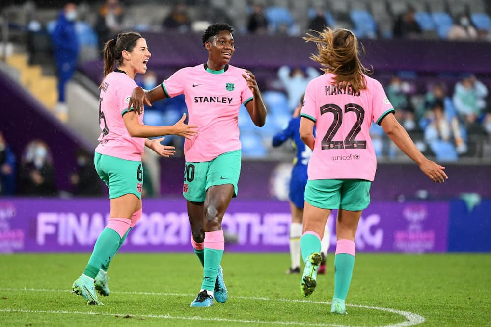 Jubilation as Nigerian star wins first-ever UEFA Champions League with Barcelona after victory over Chelsea