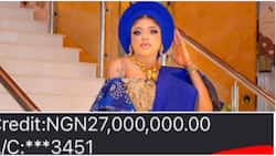 All na still lies: Reactions as Bobrisky flaunts N27m credit alert, blog tries to investigate his sponsors