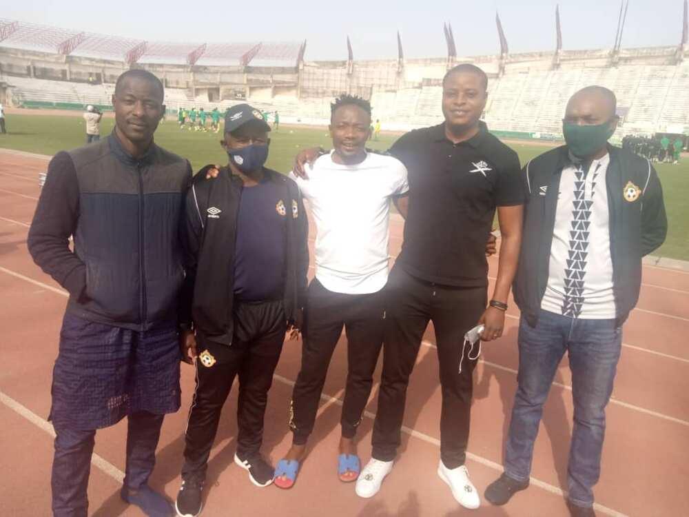 Ahmed Musa visits Jos Stadium for Plateau United vs Kwara United NPFL opener