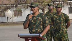 Security: Air Marshal Abubakar commissions housing projects in Jos, charges officers on professionalism