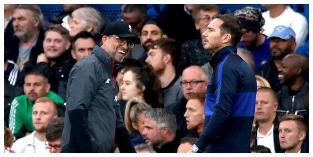 Frank Lampard slams Klopp for saying Chelsea are Premier League favourites