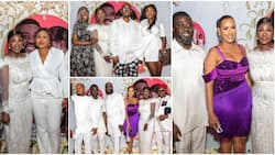 Mercy Johnson's hubby shares official photos from their star-studded 10th wedding anniversary party