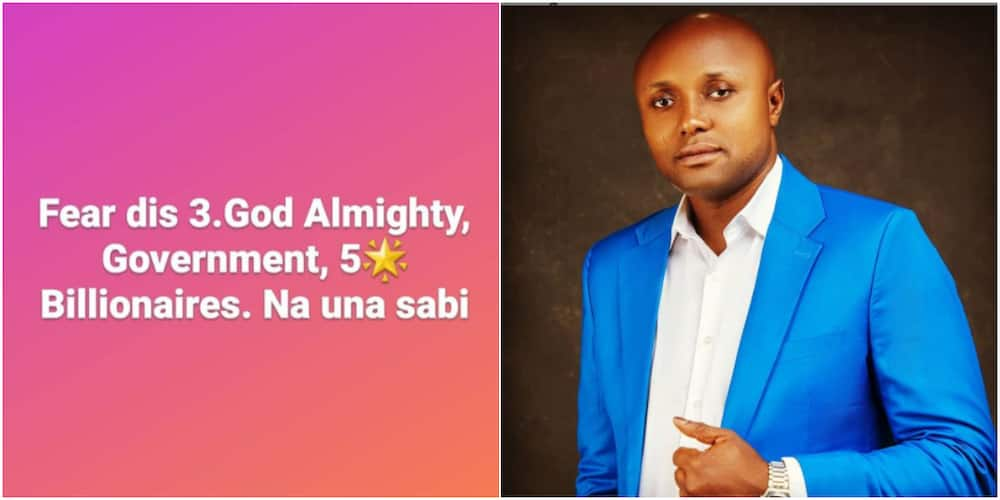 1 Month after Apologising to DJ Cuppy, Israel DMW Drops Advice Online, Tells Nigerians who They Must Fear