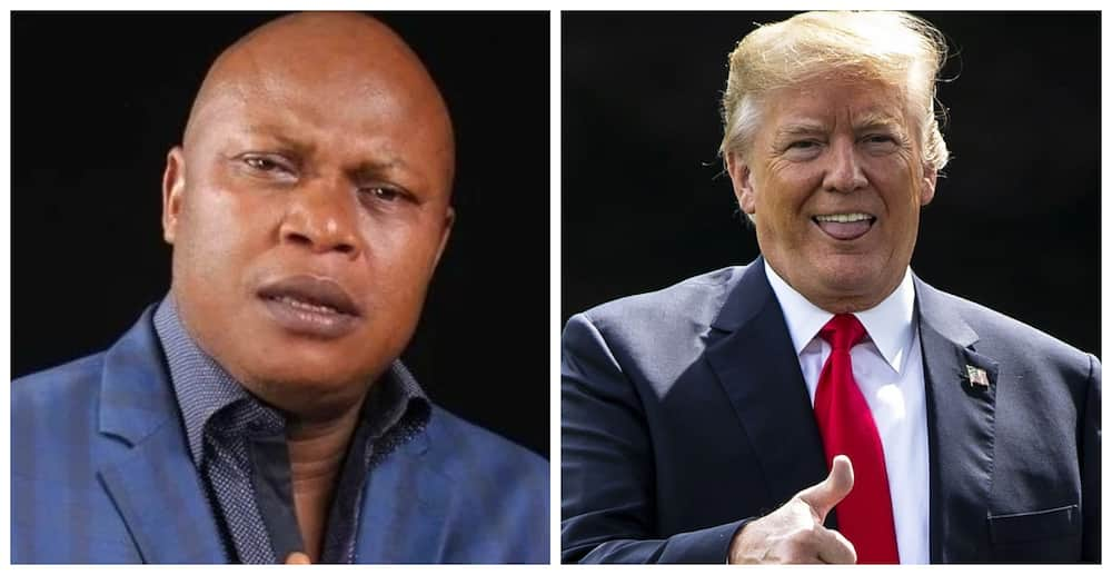 US elections: Nigerian pastor appeals to Americans to vote for Trump