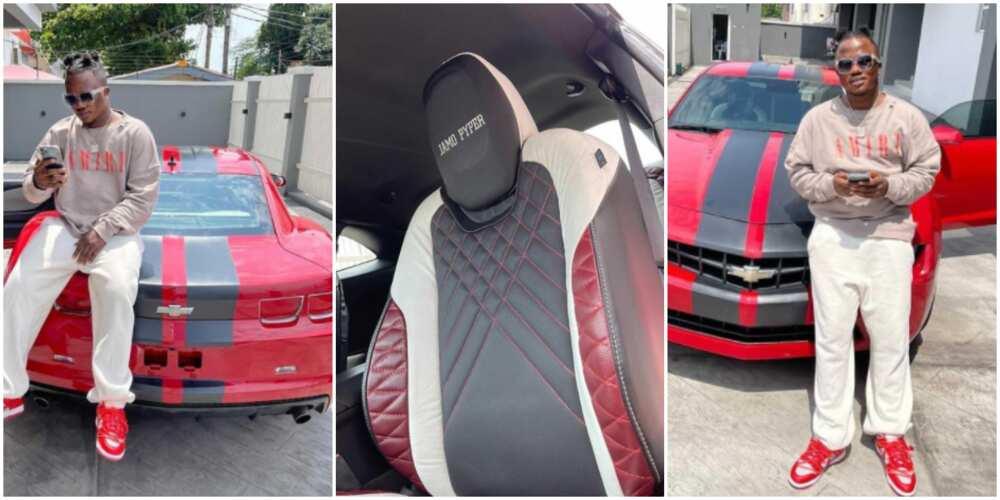 Jamo Pyper buys new car