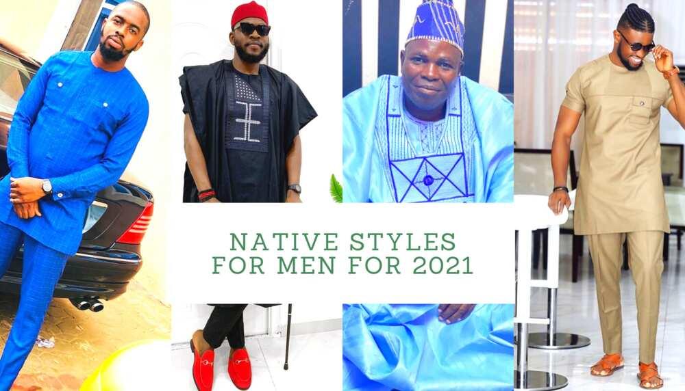 Native styles for men