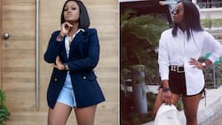 Give them - Cee-C says as she shares photos of herself in gorgeous bum shorts