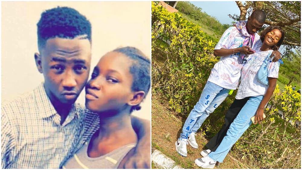 Photos of young Nigerian lovers go viral, many men react