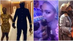 When the going was good: 5 romantic videos showing moments Annie and 2baba were the perfect couple