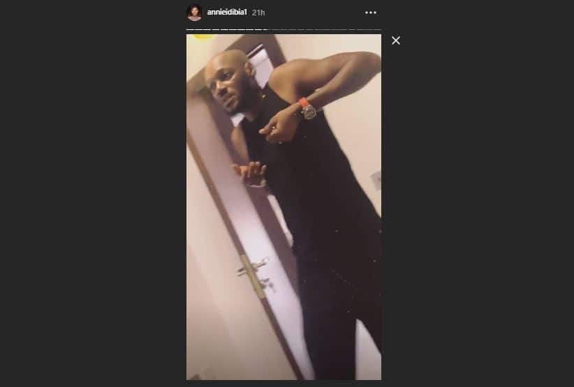 Dbanj, 2Baba and their wives hang out together in Ghana