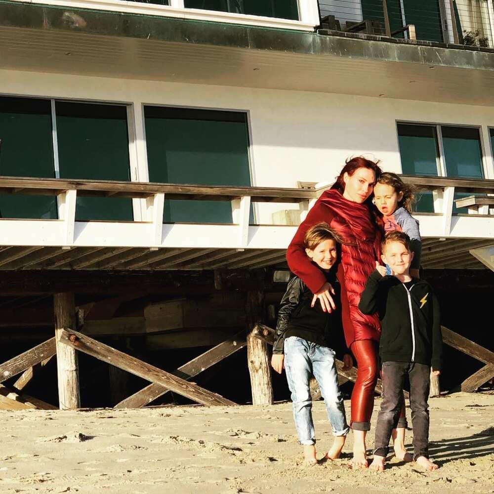 Jolene Blalock family
