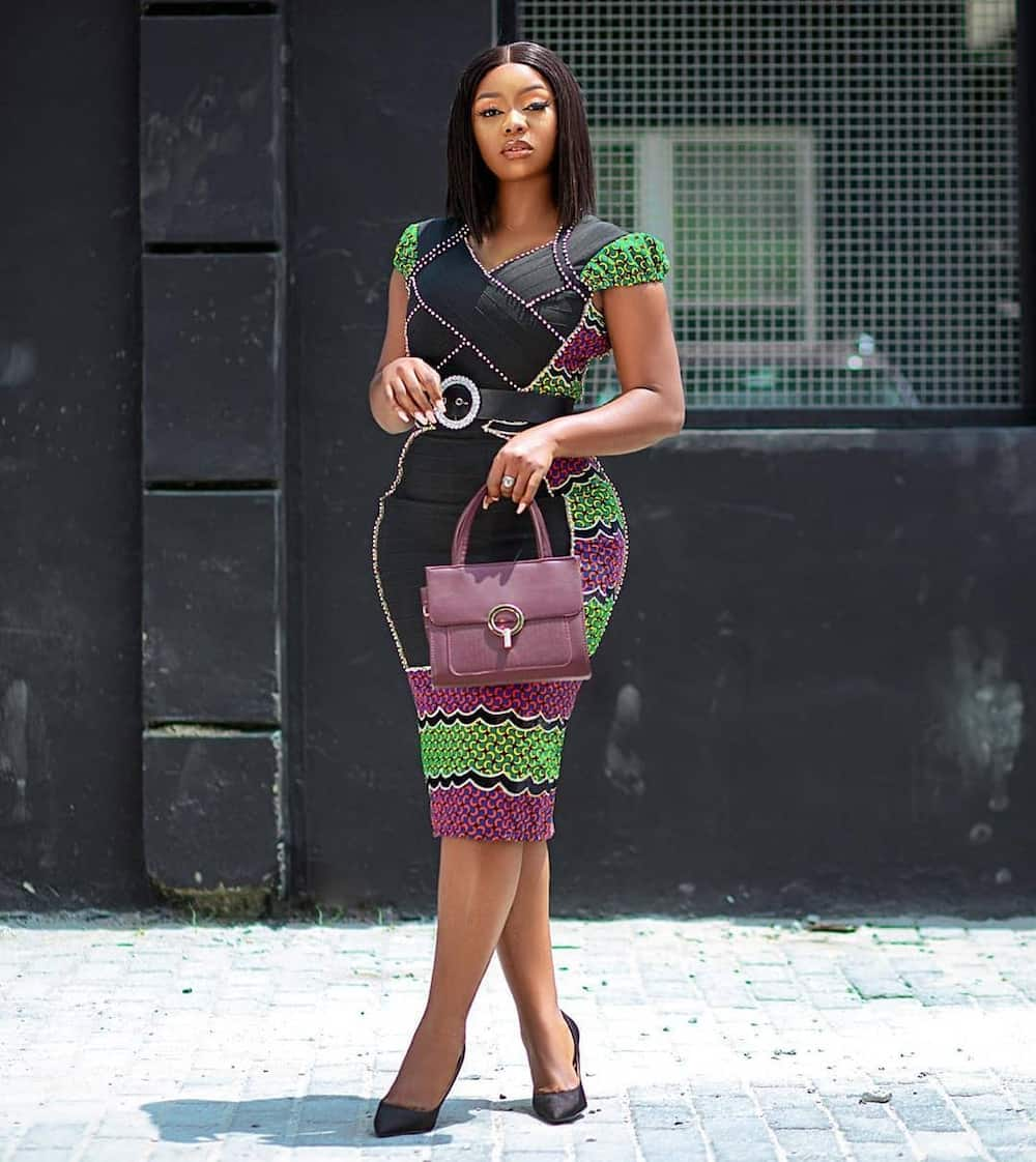 Office gown styles in Nigeria