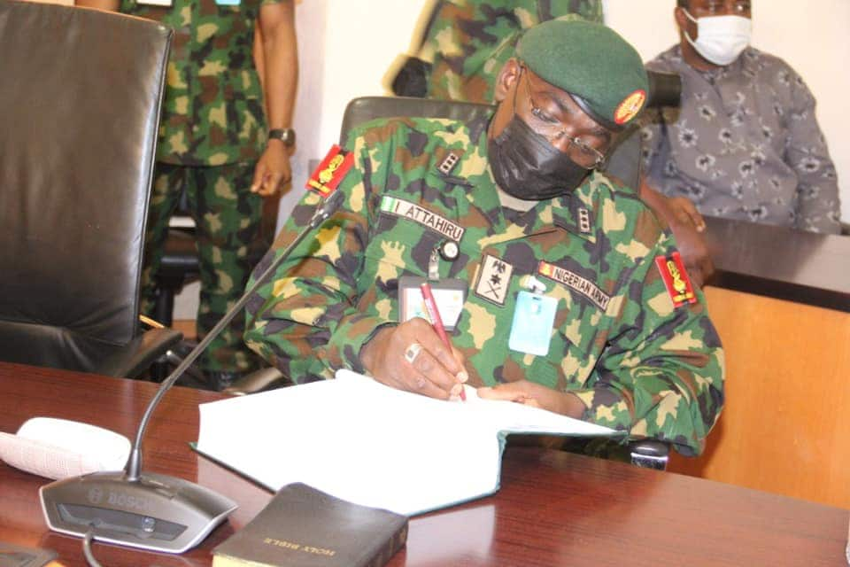 Nigerian Army Releases List of Successful Candidates for Short Service Course