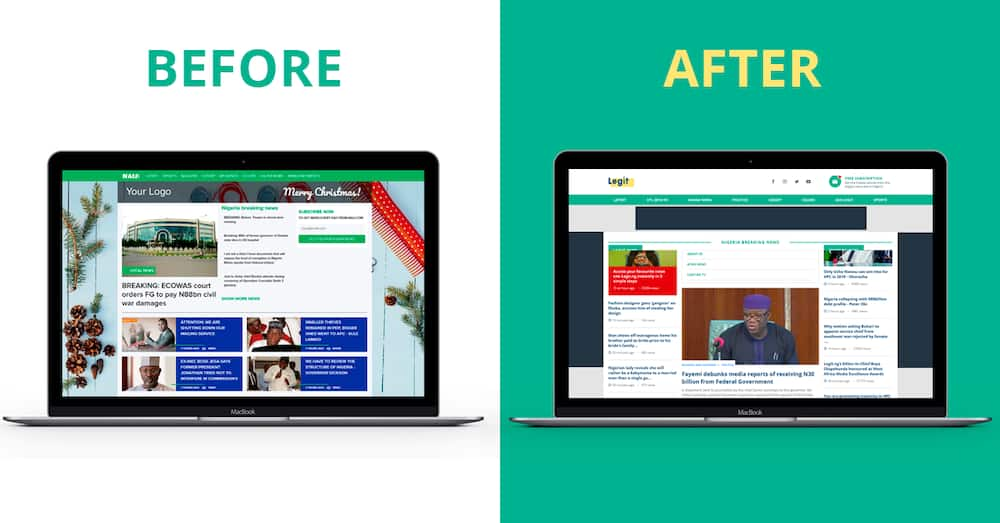 Legit.ng celebrating the first anniversary since re-branding
